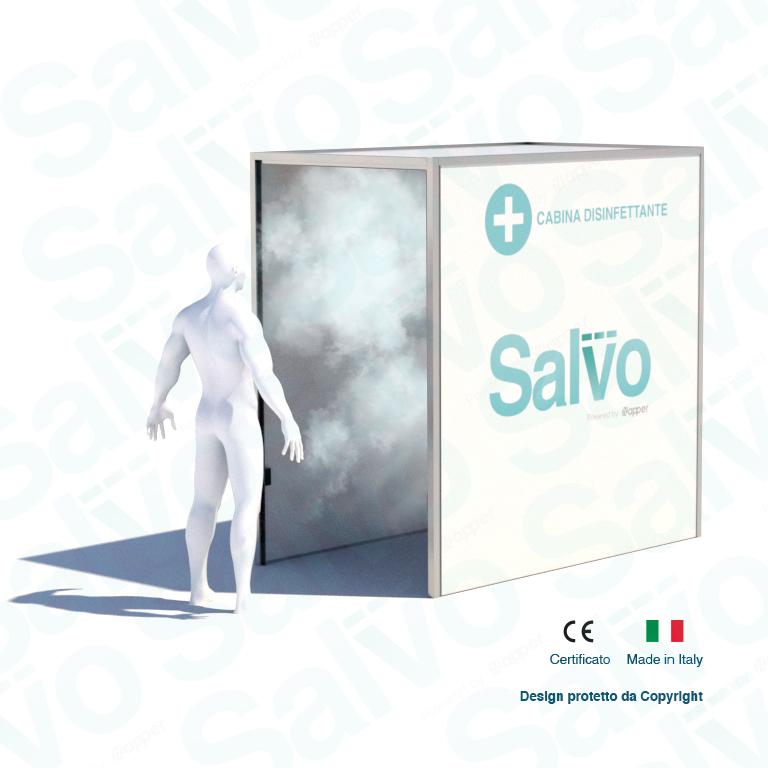 Cabina disinfettante Salvo™: come funziona